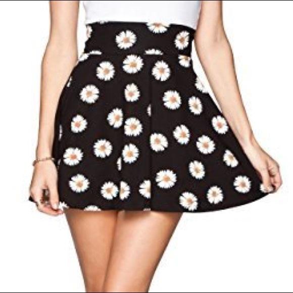 5994e79d10 Full Tilt Skirts | Daisy Floral Skater Skirt | Poshmark